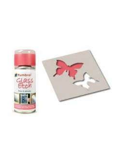Glass Etch Pink - 150ml Spray Paint
