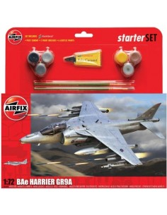 Airfix BAe Harrier GR9A Starter Set