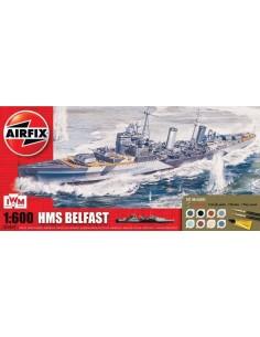Airfix - HMS Belfast Gift Set