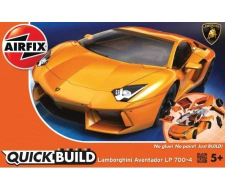 Airfix Quick Build Lamborghini Aventador Car Model Kit J