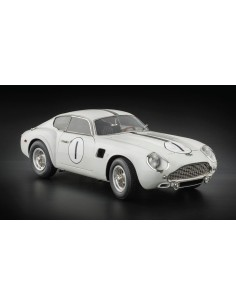 Aston Martin DB4 GT Zagato Starting-No. 1 Le Mans / white, 1961