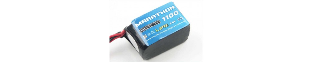 LiFe batteries for RC models