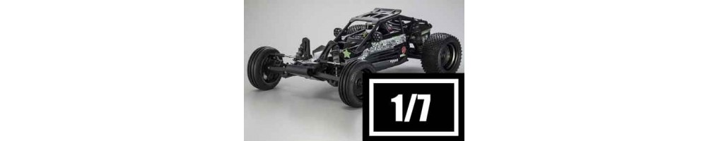 Electric RC Cars 1/7 Scale Off-Road Cars