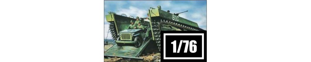 1/76 scale military vehicles model kits