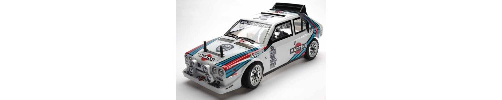 Radio control electric rally cars