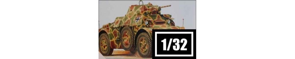 Kits de veículos militares à escala 1/32