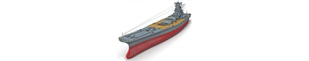 Kits de modelismo em plástico de barcos
