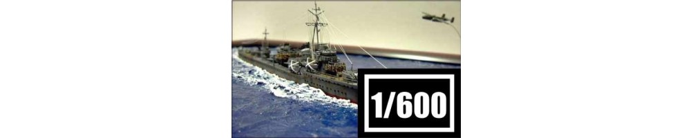 Kits de modelismo de barcos à escala 1/600