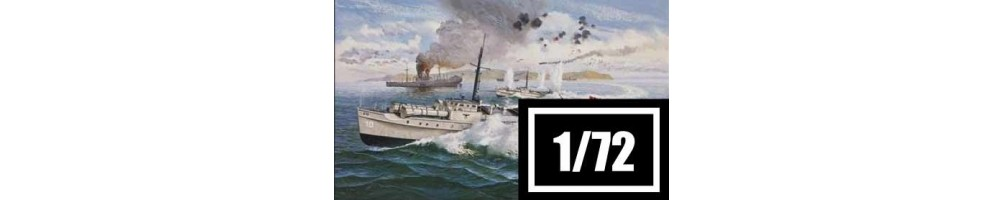 1/72 scale ships model kits