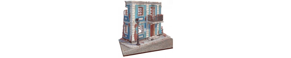 Buildings and constructions model kits