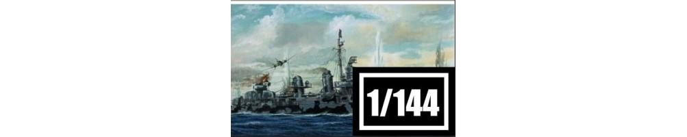 Kits de modelismo de barcos à escala 1/144