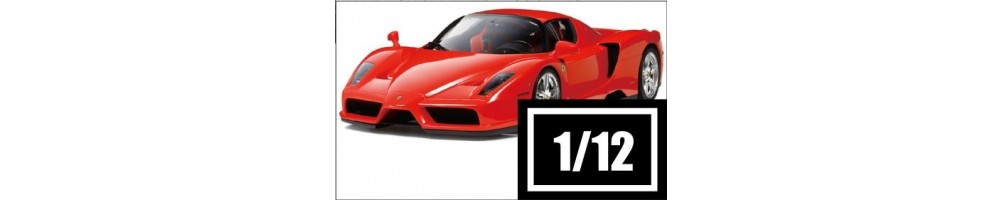 1/12 scale car model kits