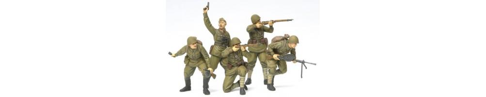 Kits de modelismo em plástico de figuras