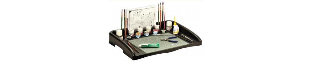 Acessórios para kits de modelismo em plástico