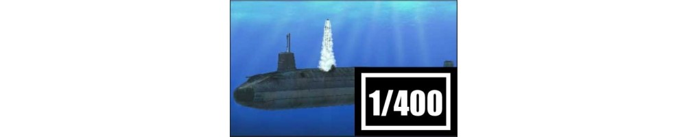 1/400 scale submarines model kits