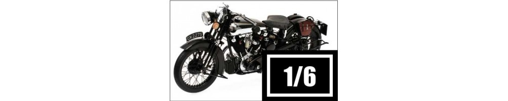Miniaturas de motas de colecção diecast e resina à escala 1/6 - HOBBYSECTOR Modelismo