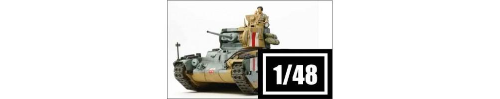 1/48 scale tanks model kits