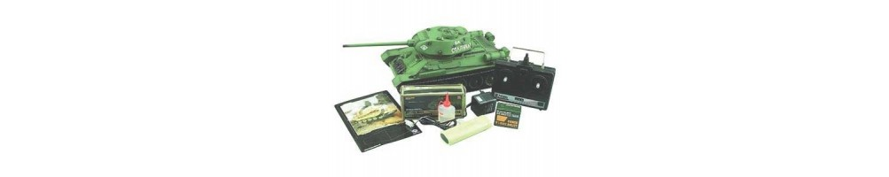 Spare Parts and Accessories for RC tanks