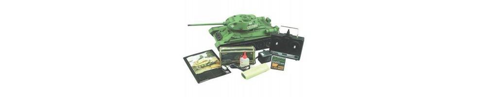 Peças e Acessórios para tanques de radiomodelismo