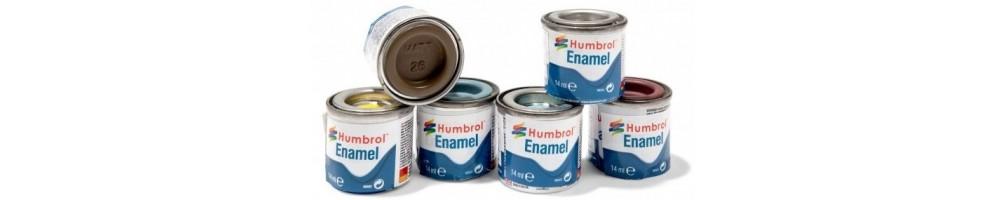 Enamel Paints for plastic model kits
