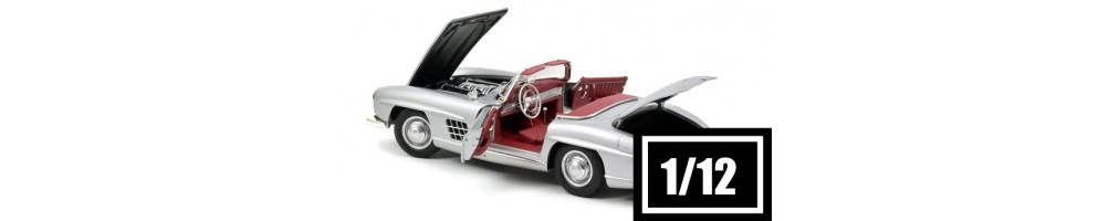 Miniaturas de carros de colecção diecast e resina à escala 1/12 - HOBBYSECTOR Modelismo