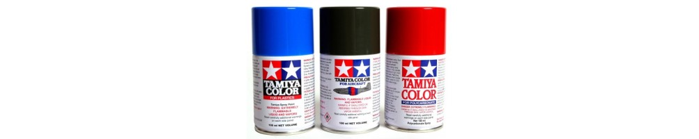 Spray Paints for plastic model kits