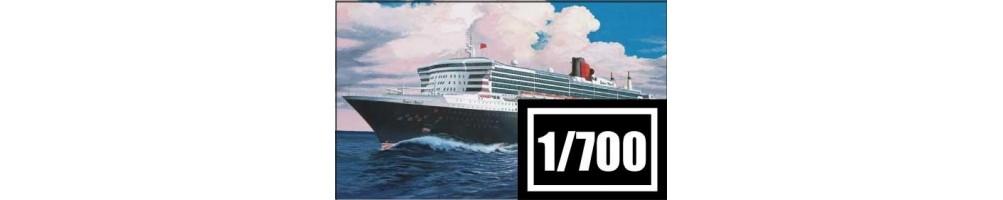 Kits de modelismo de barcos à escala 1/700