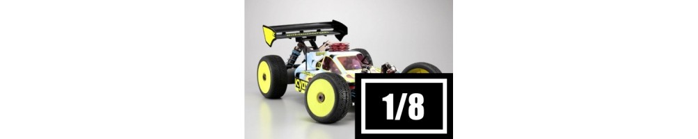 RC Combustion 1/8 scale Off-Road Cars
