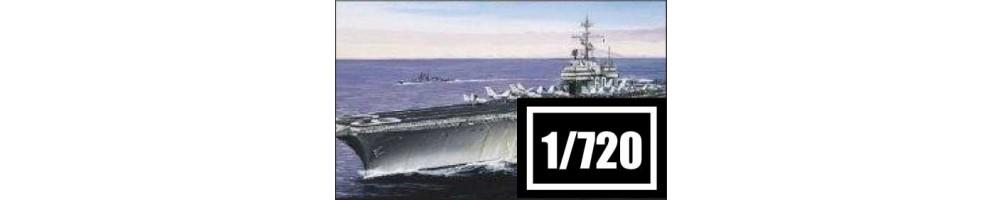 Kits de modelismo de barcos à escala 1/720