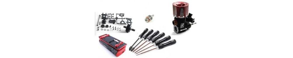 Peças e Acessórios para modelos de Radio Control
