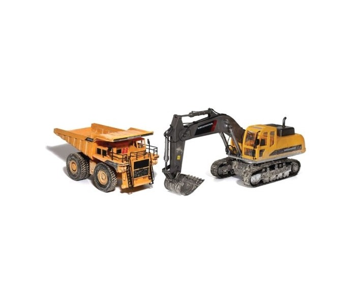 RC Construction Models