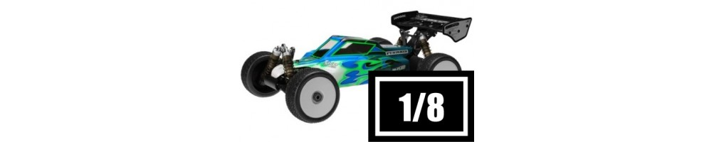 Electric RC Cars 1/8 Scale Off-Road Cars