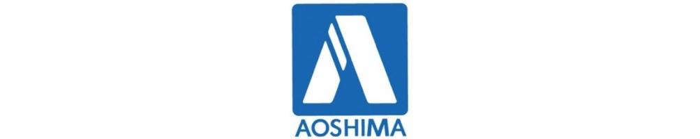 Aoshima kits de carros em plástico escala 1/24