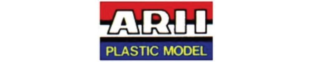 ARII kits de carros em plástico escala 1/24
