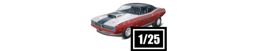 Kits de carros à escala 1/25