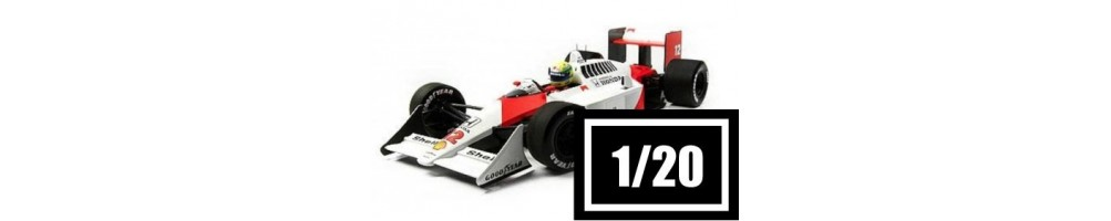 1/20 scale car model kits