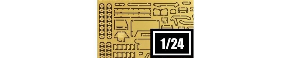 Transformação e Upgrades Kits de modelismo à escala 1/24