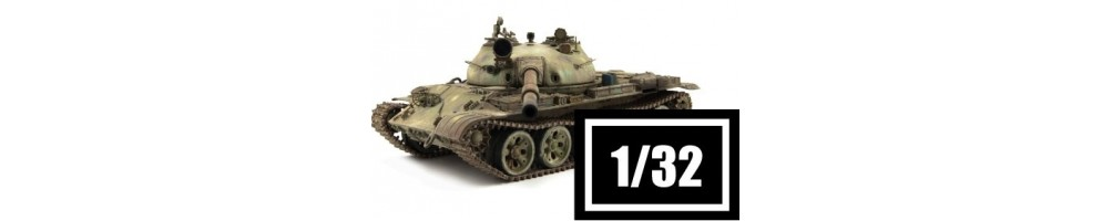 Kits de tanques à escala 1/32.