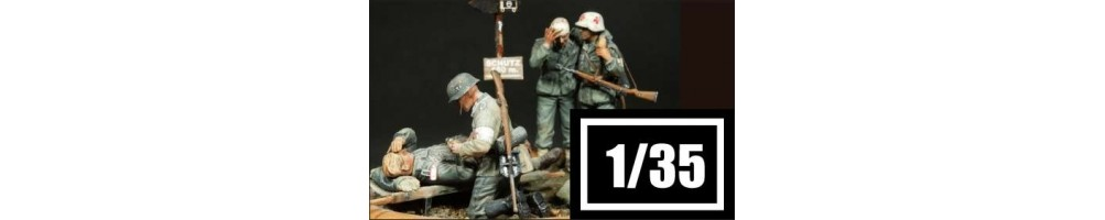 1/35 scale figures plastic model kits