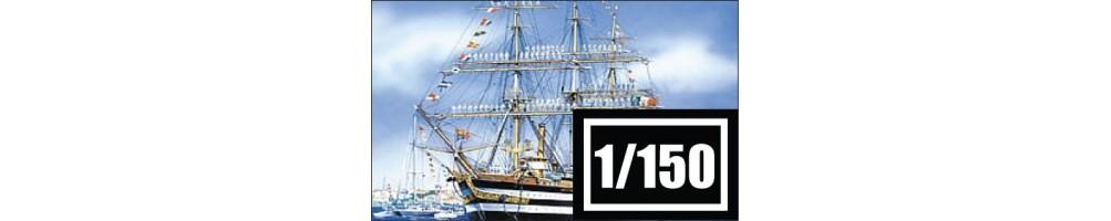 1/150 scale ships model kits