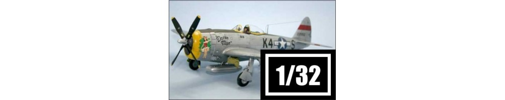 1/32 scale aircraft model kits