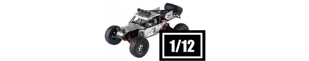Carros RC Eléctricos Escala 1/12 Off-Road