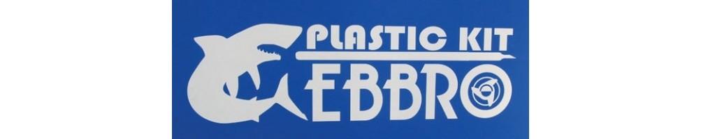 Ebbro kits de carros em plástico escala 1/20