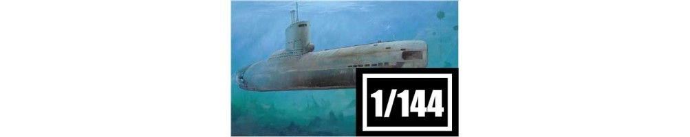 1/144 scale submarines model kits