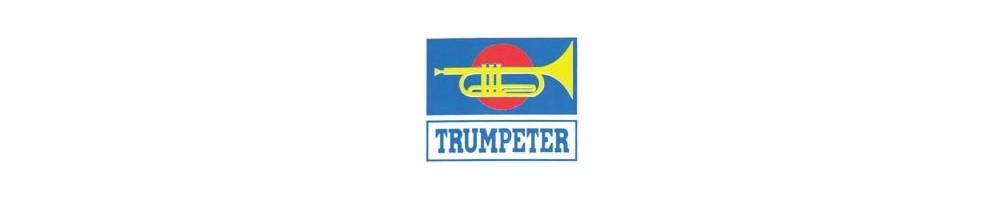 Trumpeter kits de tanques em plástico escala 1/144
