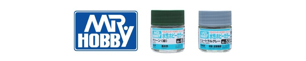 Acrylic Paints for plastic model kits Mr. Hobby