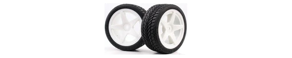 Tyres, wheels and inserts for RC models