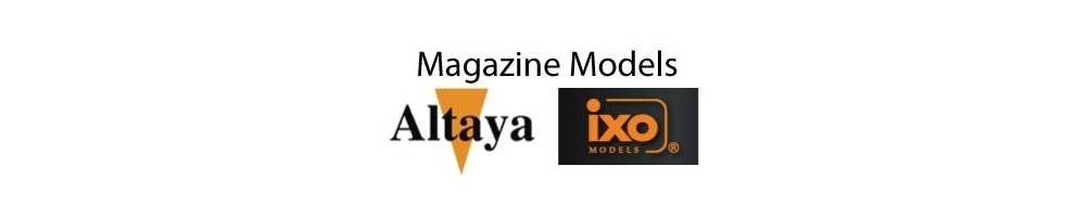 Altaya / IXO Magazine diecast models 1/24 scale