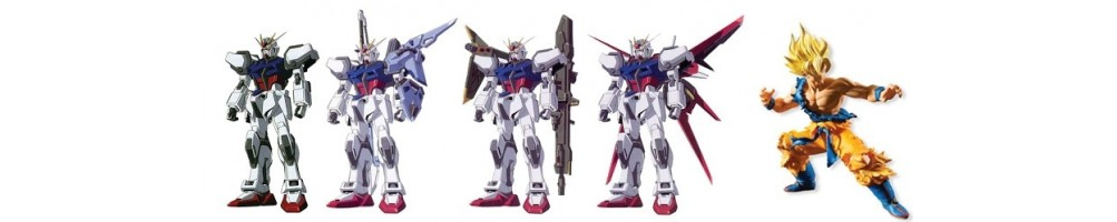 Gundam Miniatures Plastic Kits