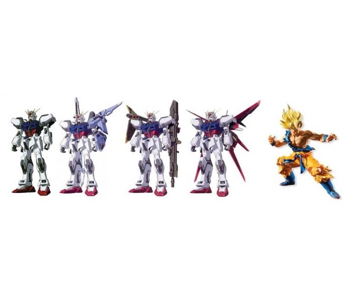 Gundam & Dragon Ball